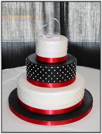 red and black wedding cakes ideas - Google Search | Wedding ...
