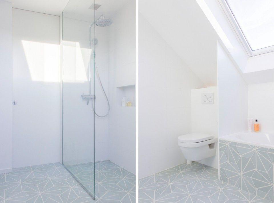 Salle de bain Auguste et Claire - Hexagonal Cement Tiles