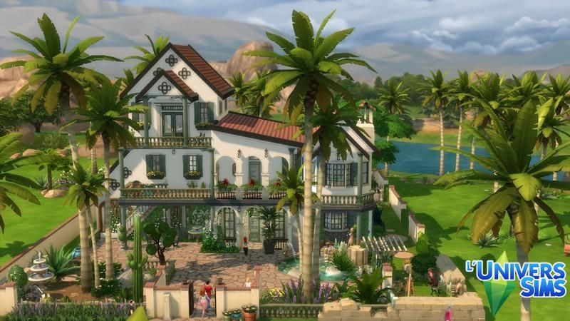 Isola Rossa Maisons L Universims Sims Sims Building