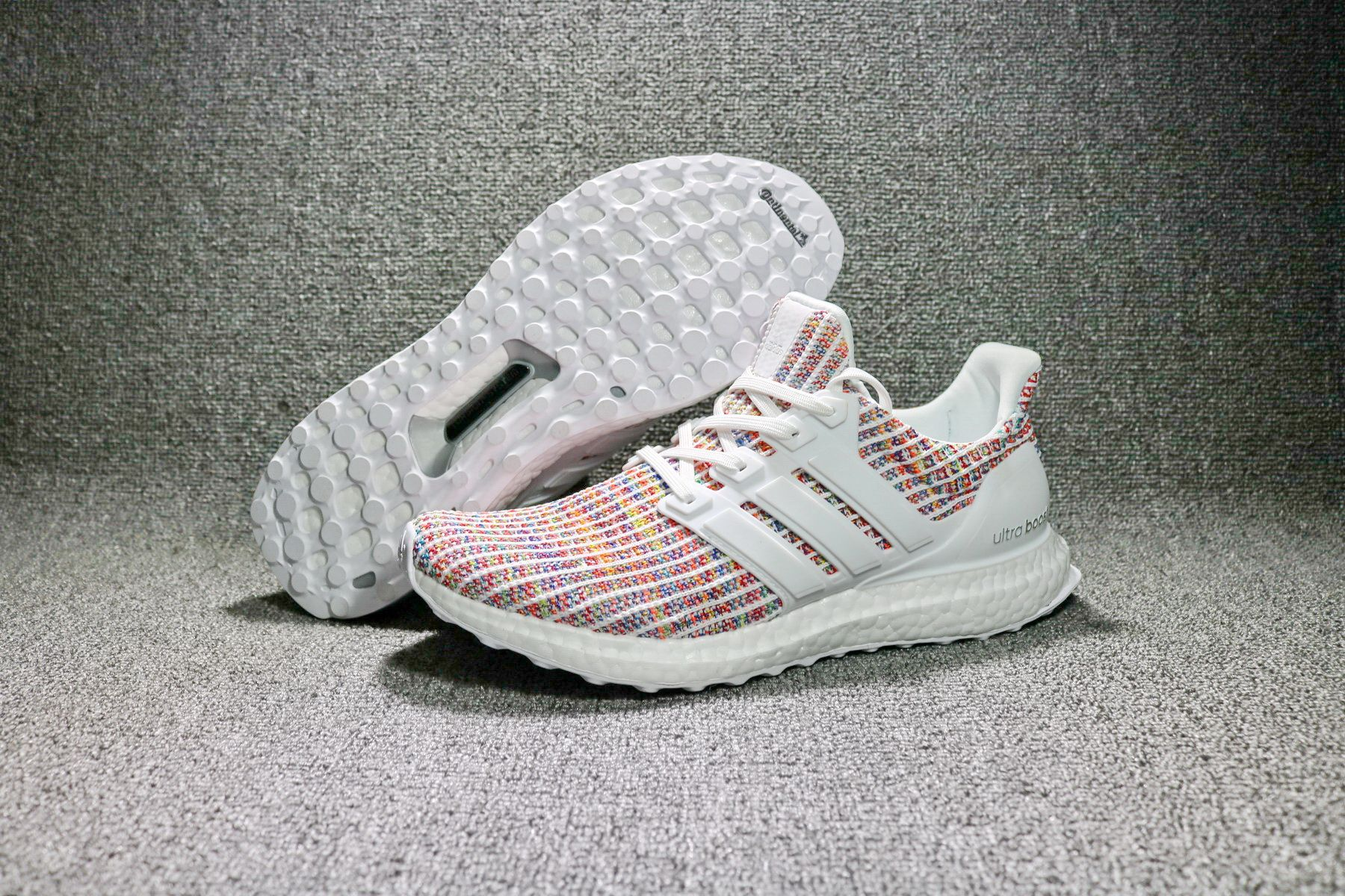 info for 0d30f e9eb0 2017-2018 New Arrival Adidas Ultra Boost 4 White Pink BB8698