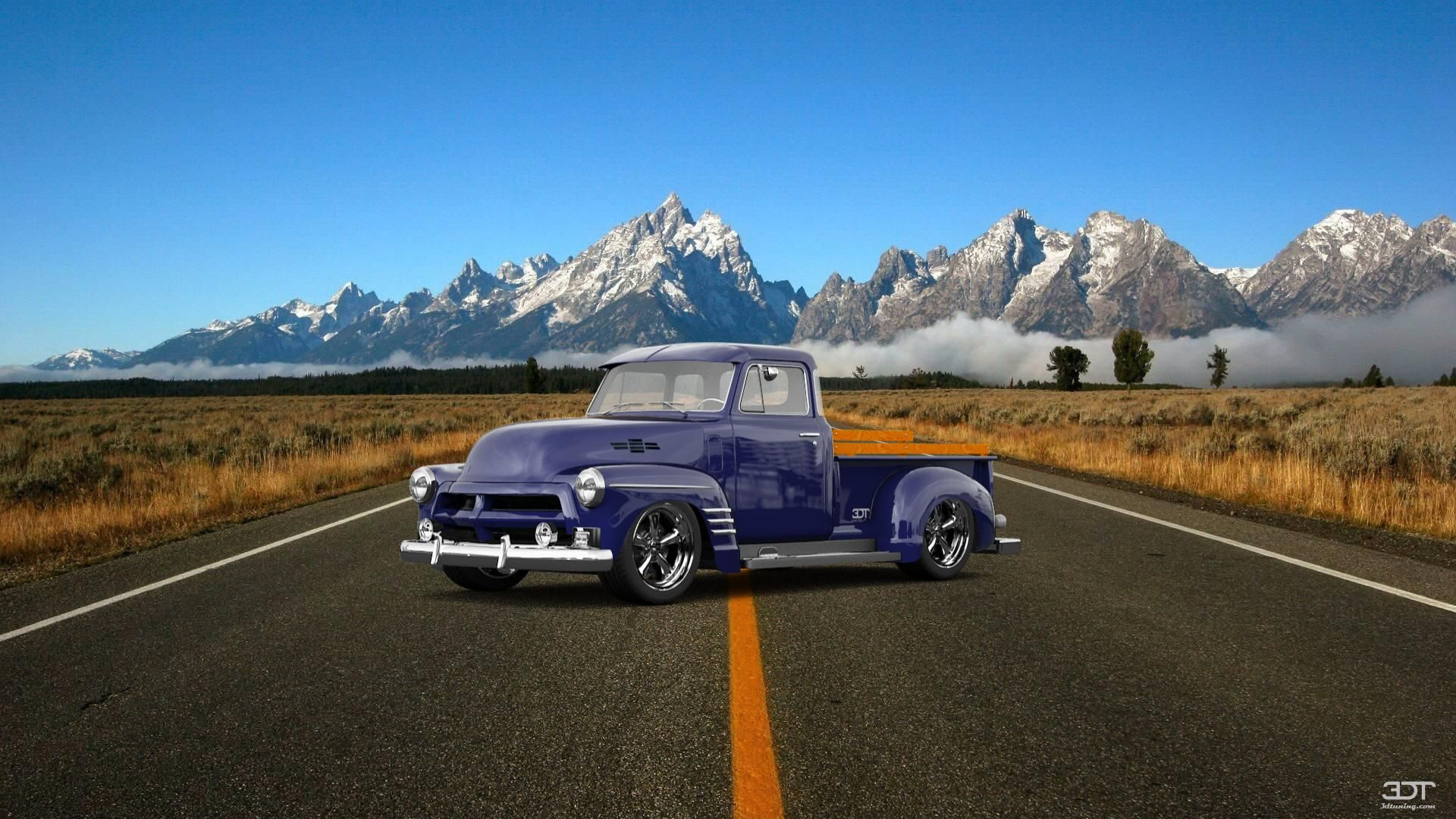 Checkout My Tuning Chevrolet 3100 2954 At 3dtuning 3dtuning