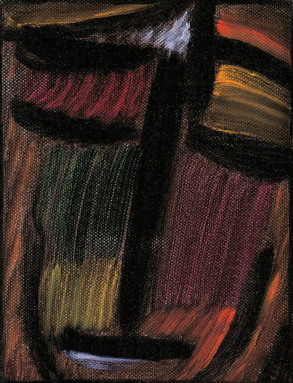 Jawlensky, Meditation N.287 (Versunken), 1934, Öl auf ...