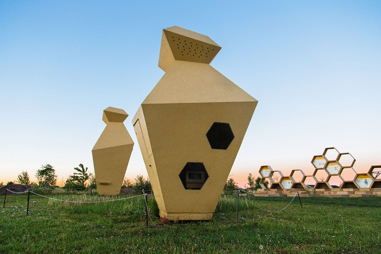 Urban Beehive Project By Nine Yards Studio In