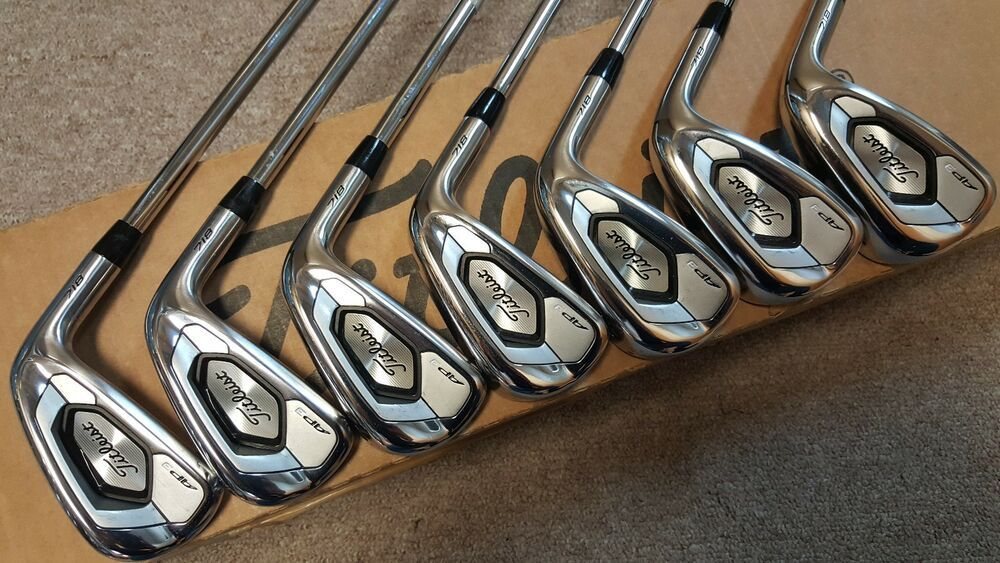 Titleist 718 AP3 Irons #golf | My Golf WITB (Dreaming) | Golf, Golf