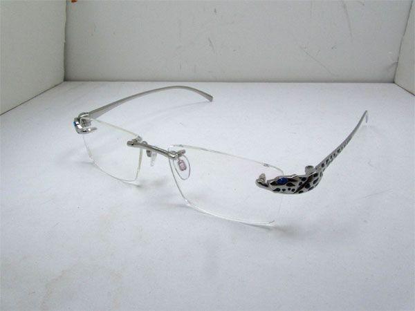 bf98cf996393 2011 LIMITED Cartier Panther 8200876 Titanium Eyeglasses