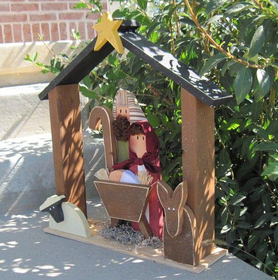 c5a3daf6919 GRAN Belén en Navidad vacaciones Noel niño Jesús burro por lisabees ...