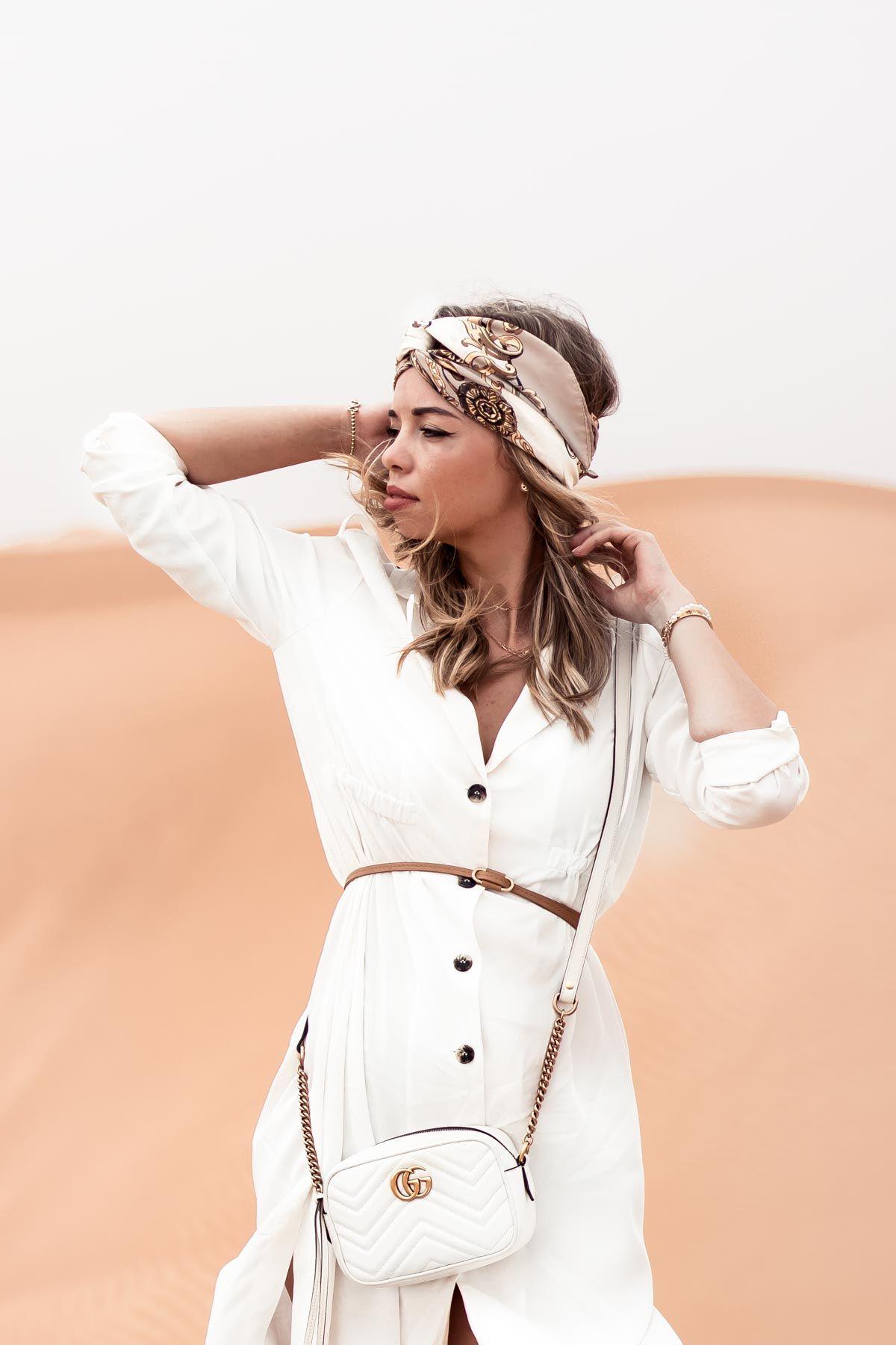dubai desert safari - my philocaly | dubai fashion women