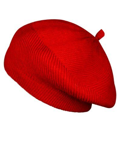 Dahlia Women s Fluffy Twisted Beret Acrylic Rabbit Hair Knit Beanie Hat -  Red Dahlia http  d1174e9fbc2d