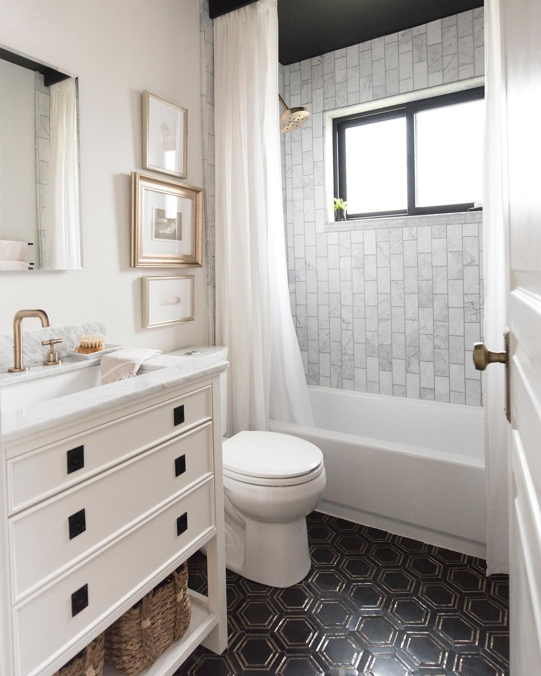 Sarah Gibson Room For Tuesday On Instagram Plans This Weekend Operation Guest Bathroom Renovatio Bathroom Decor Guest Bathroom Renovation Bathrooms Remodel