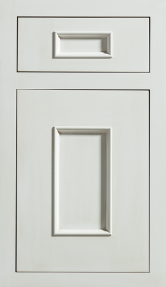 Dura Supreme Cabinetry Middleton Inset cabinet door style shown in White Paint with Platinum Glazed  sc 1 st  Pinterest & Dura Supreme Cabinetry Middleton Inset cabinet door style shown ... pezcame.com