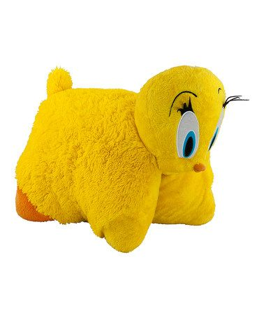 Take A Look At This Tweety Bird Pillow Pet By Pillow Pets On Zulily Today Animal Pillows Disney Stuffed Animals Bird Pillow