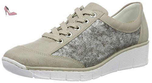 56016, Sneakers Basses Femme, Gris (Grey/40), 41 EURieker