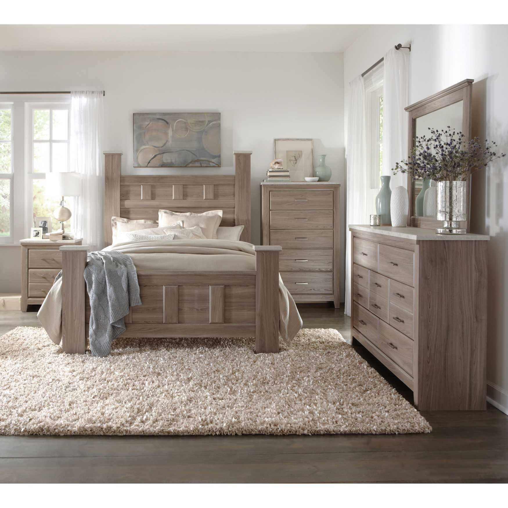 Art Van 6 piece Queen Bedroom Set Overstock Shopping Big ...