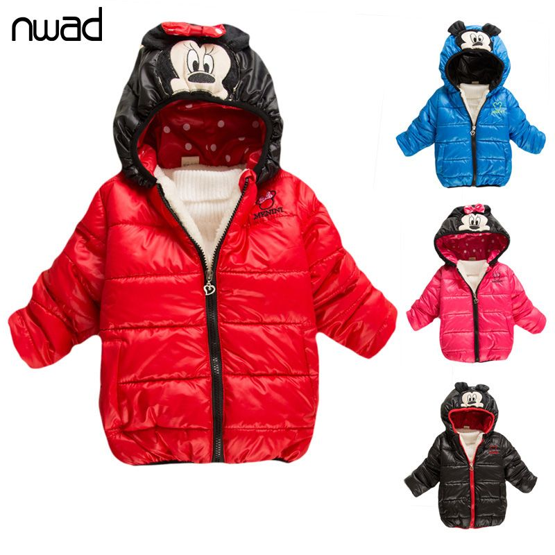 Clearance Sale Boys Girls Winter Coat Minnie Minion Jacket For ...