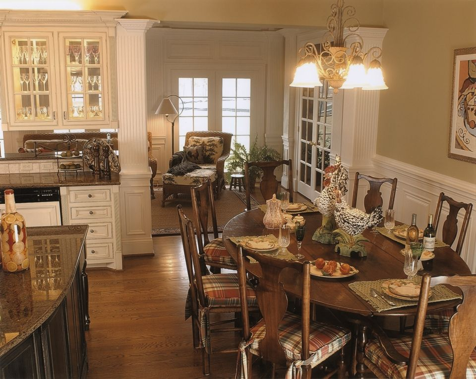country french kitchens French Country Kitchen Leslie Newpher
