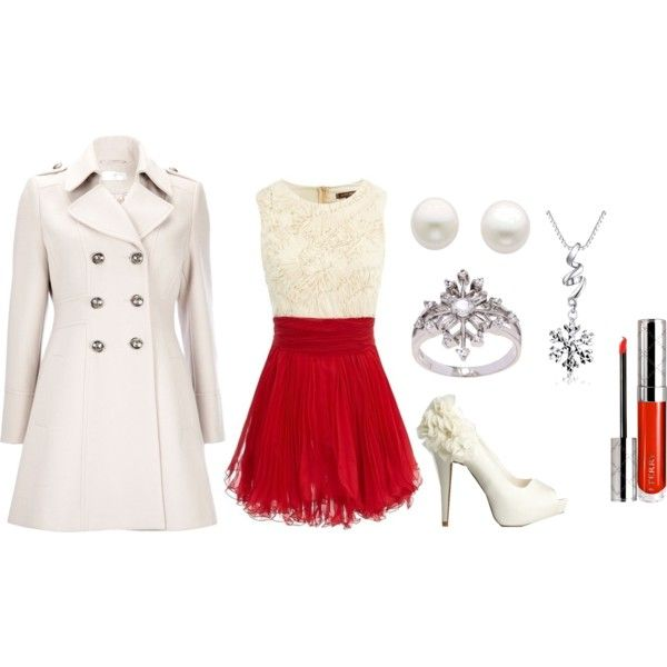 """Christmas Party!"" by irelandgabriela on Polyvore"
