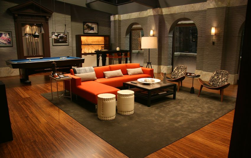Interior of Chuck Bass's Empire Hotel Suite (is that a picture of Bart  Bass?) via Christina Tonkin Interiors BlogChristina Tonkin Interiors Blog |  Pinterest ...