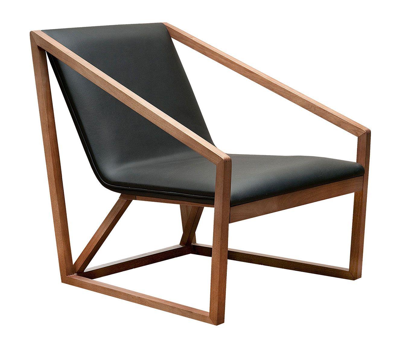 Sill n piel madera comfy en 2019 sillones sillones de - Sofas individuales modernos ...