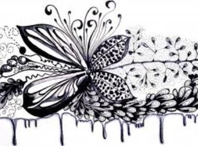 Simple Floral Line Art : Easy doodle art google search drawings
