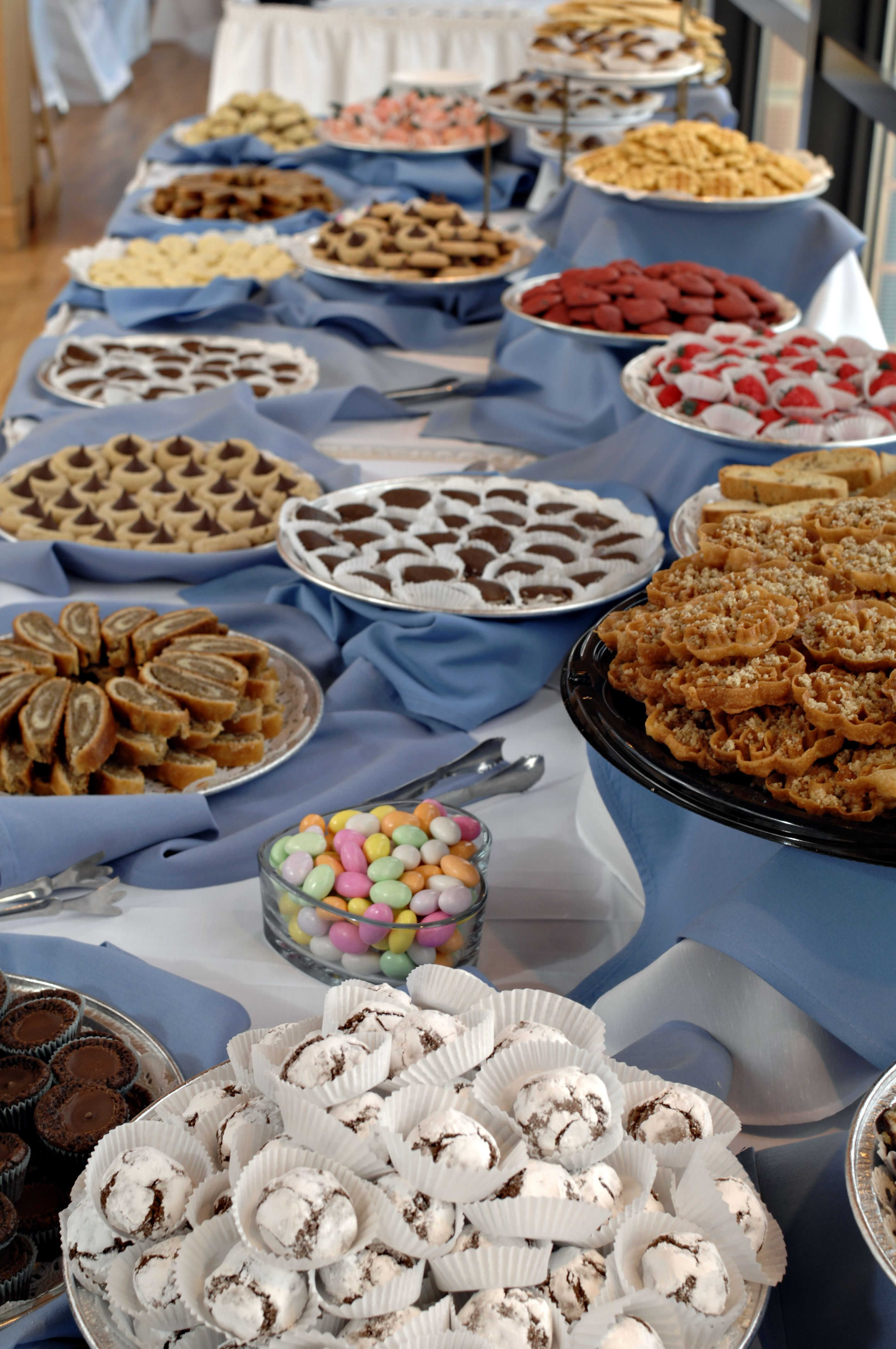 The Cookie Table From My Wedding September 2008 Cookie Table
