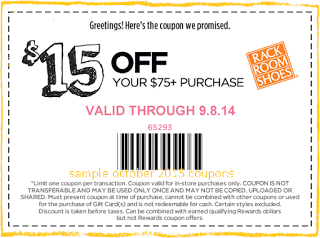 Rack Room Shoes Coupons Free Printable Coupons Shoes Coupon Printable Coupons