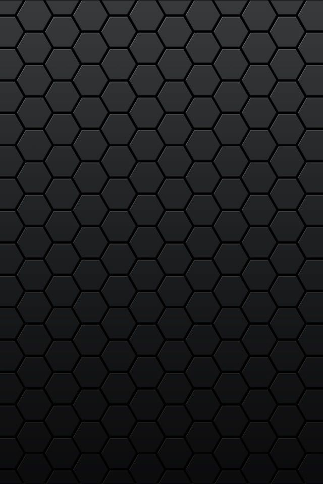 Black Honeycomb Android Wallpaper