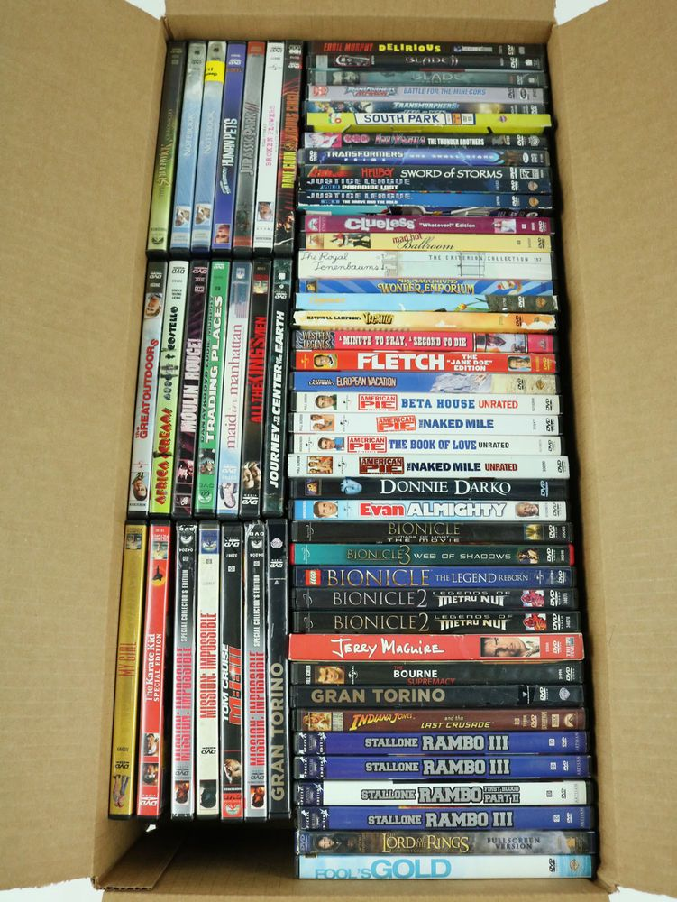 62 Used Dvd Lot All Genre Movie Bulk Wholesale Action Comedy Romantic Stallone Comedy Quotes By Genres Genres