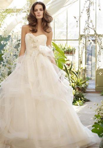 Ball Gown Wedding Dresses : Lazaro | Pinterest | Ball gowns, Dress ...