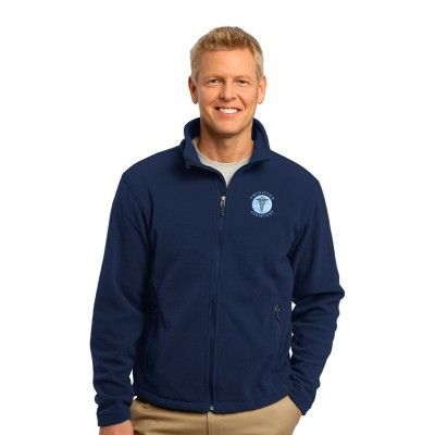 """a4921c262efe The """"Physician Assistant"""" Port Authority® Men s Soft Fleece Jacket offers  incredible warmth and comfort."""
