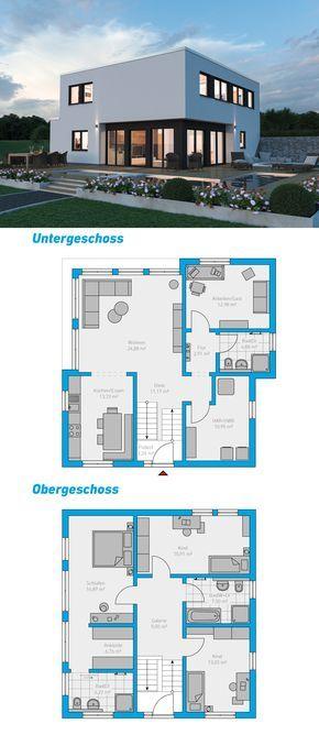 Montis 158 - schlüsselfertiges Massivhaus Hanghaus#spektralhaus #ingutenwänden #2geschossig #hanghaus #Grundriss #Hausbau #Massivhaus #Steinmassivhaus #Steinhaus #schlüsselfertig #neubau #eigenheim #traumhaus #ausbauhaus #arquitectonico