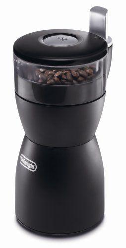 Delonghi Kg40 Electric Coffee Bean Grinder With Stainless Steel Blade 24 99 Coffee Bean Grinder Best Coffee Grinder Coffee Grinder