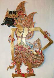 Duryudana The First Born Of The 100 Kurawa Children Karananyar Central Java Wayang Kulit Leather Seni Tradisional Patung Ukiran Seni