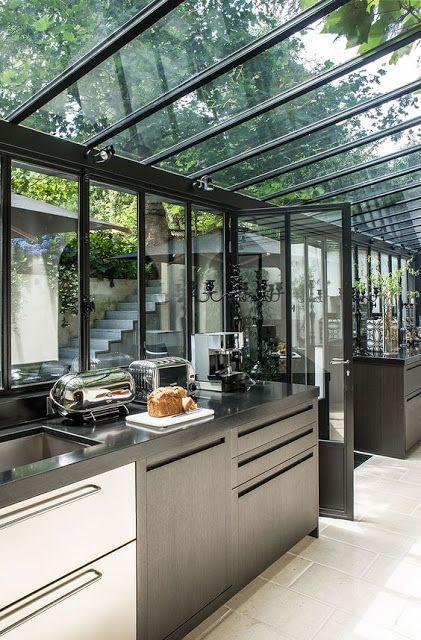 Coups De Cœur 46 Avec Images Cuisine Jardin D Hiver Design Interieur De Cafe Cuisine Exterieur