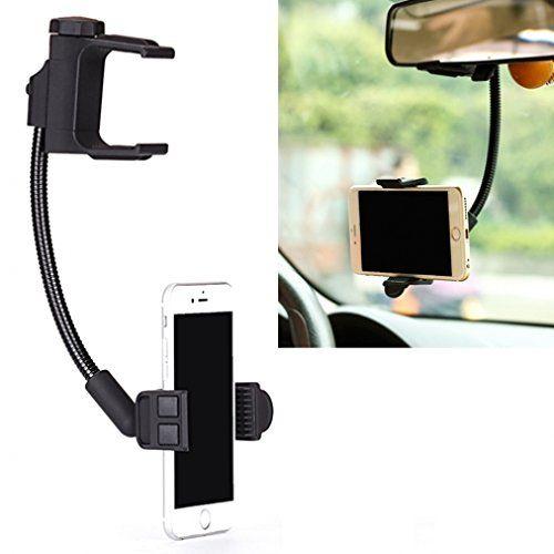 Universal Car Rear View Mirror Mount Holder For Microsoft Nokia Lumia Smartphones Sony Xperia Z1 Z2 Z3 Z4 Z5 Z3 Car Rear View Mirror Car Phone Mount Car Mount