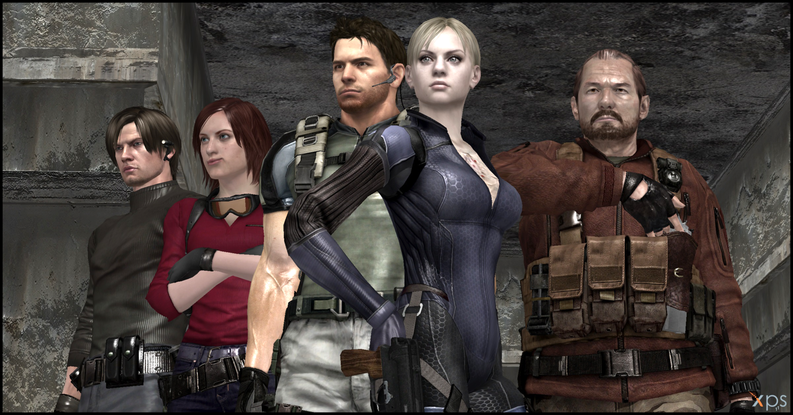 Resident Evil Mainstays Jill Chris Leon Claire And Barry Were Missing Rebecca Resident Evil Resident Jill Valentine