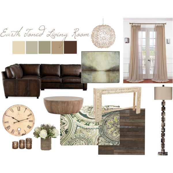 Rustic Earth Toned Living Room Living Room House Interior Home Decor