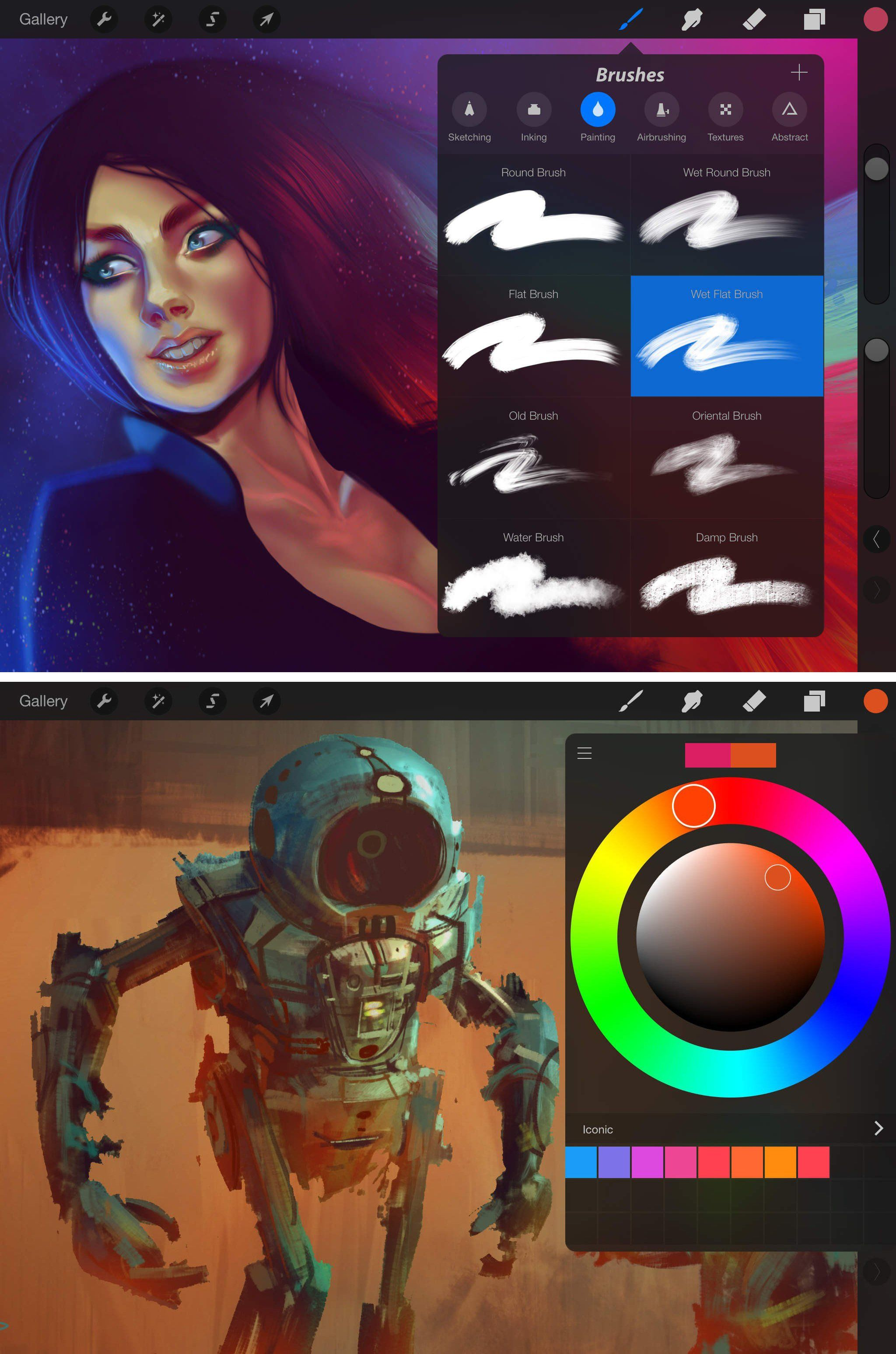 Our pick of the best apps for artists, including Procreate 2