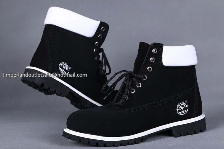 Black and White Timberland boots | Shoes | Timberland