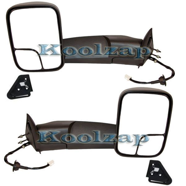 Details About New Pair Set Tow Towing Side Mirror Bracket Kit For 94 02 Dodge Ram Pickup Truck Truck Wish List Dodge Ram Pickup 2001 Dodge Ram 1500 Dodge