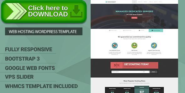 ThemeForest]Free nulled download ServerEast - VPS Hosting Wordpress ...