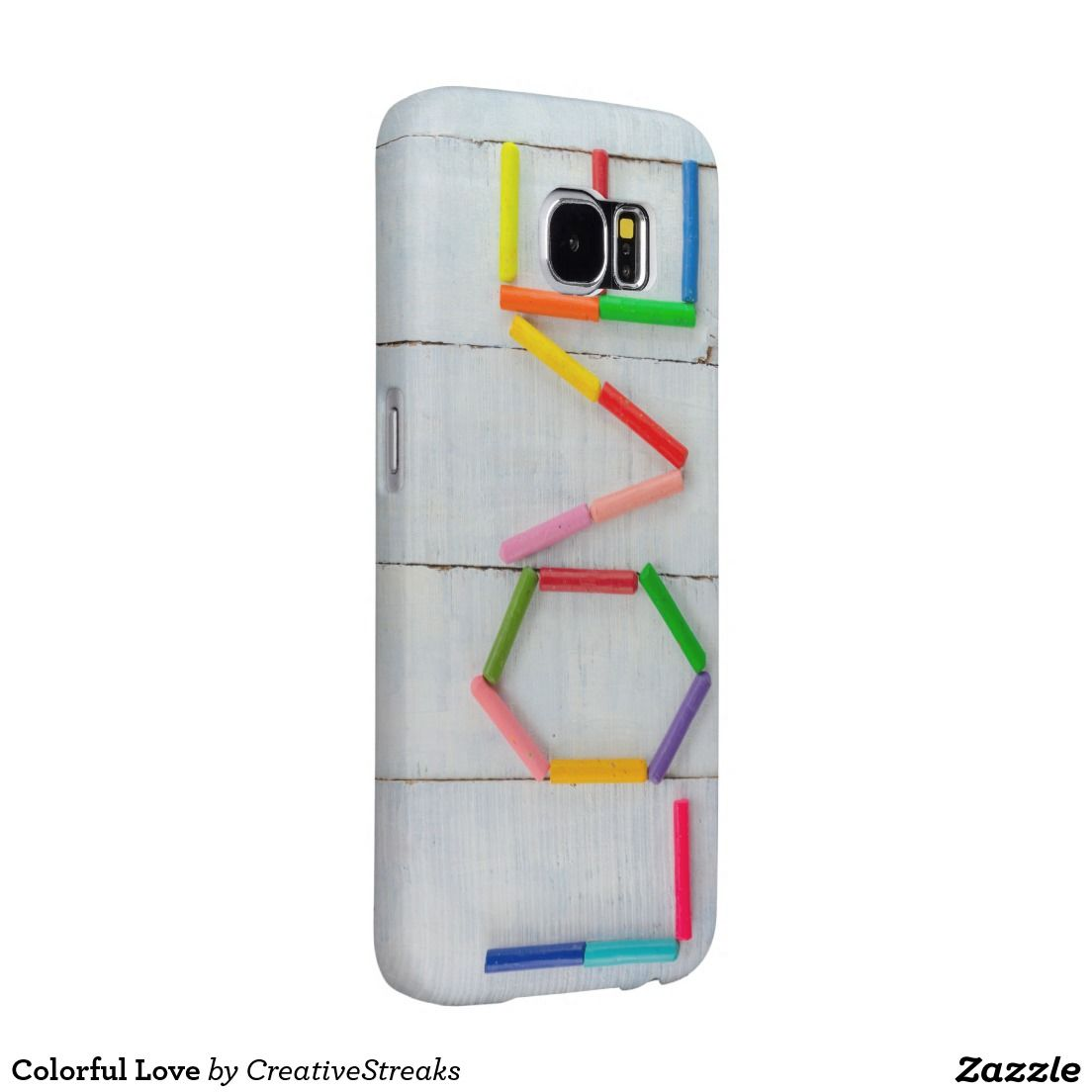 Colorful Love Samsung Galaxy S6 Cases