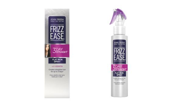 FRIZZ  EASE 3-day straight flat iron spray #3daystraightlove @John Searles Searles Frieda US complimentary of influenster
