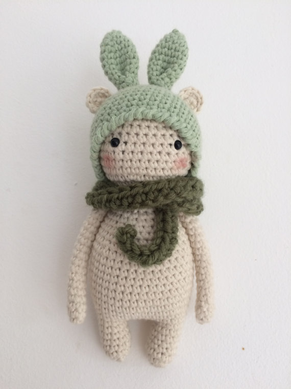 PATTERN! Bunny bear amigurumi pattern by Kedito PDF FILE -download ...