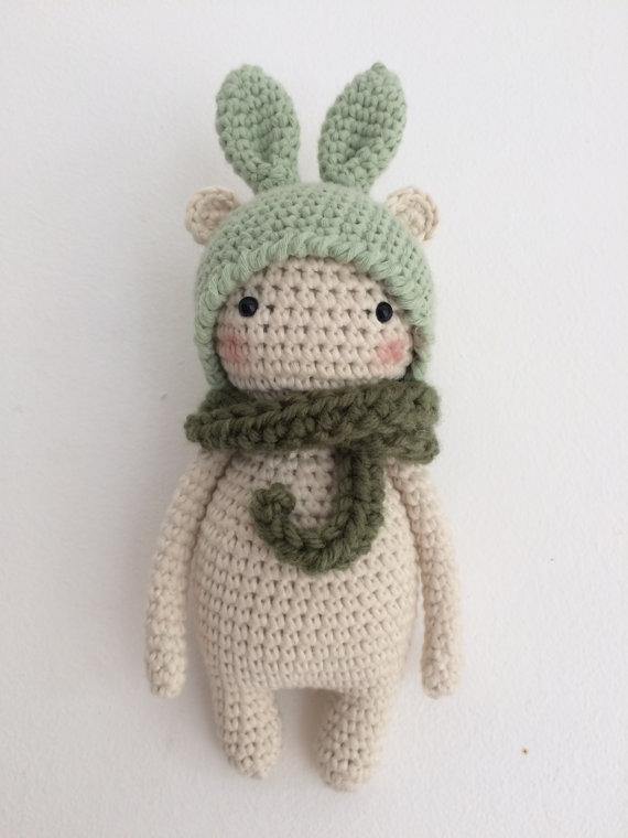 PATTERN Bunny bear amigurumi pattern by Kedito PDF FILE by Kedito