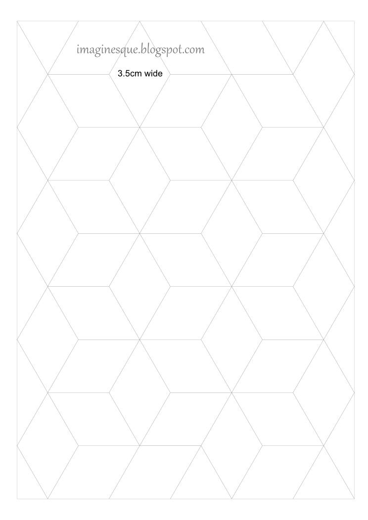 Imaginäre freie Quilt-Diamanten-Vorlagen | nähen | Pinterest | Frei ...