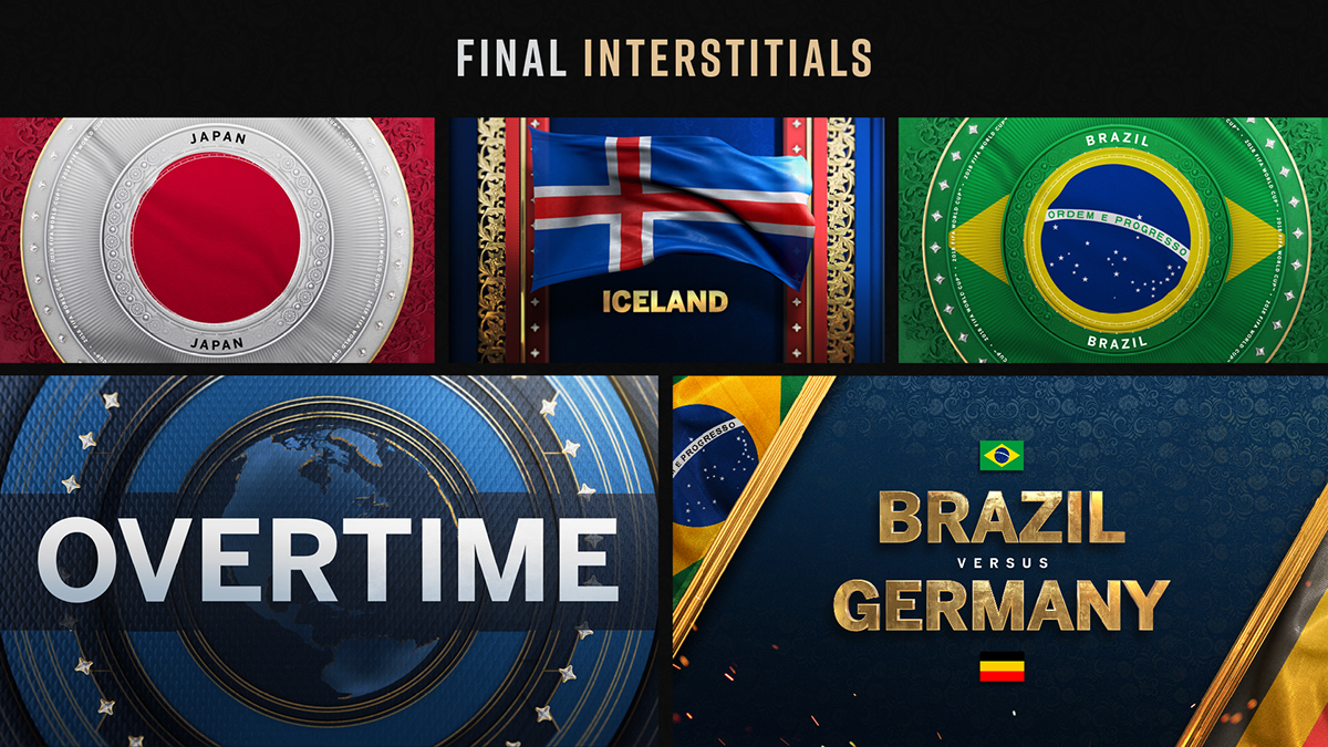 FIFA World Cup 2018 OnAir Package on Behance