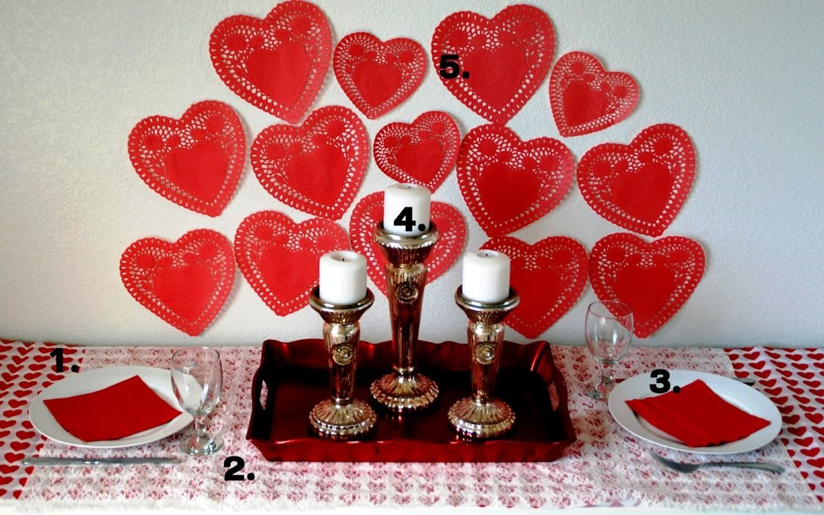 Romantic Valentine Day Table Settings Ideas - Real House Design ...