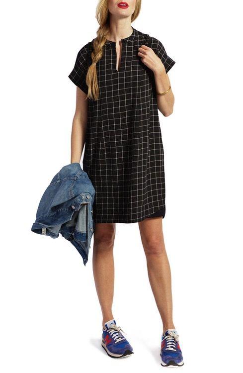 58dd08f7a1 Loyal Hana Riley Plaid Maternity Nursing Shirtdress