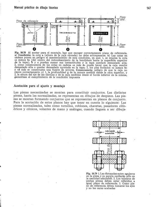 Manual De Dibujo Tecnico Schneider Y Sappert Tecnicas De Dibujo Planos Calas