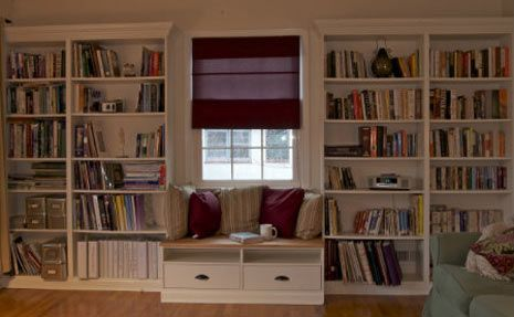 Ikea Hack Built In Bookshelves With Windowseat For Under 350 By Theresa Novak